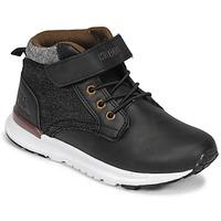 Shoes Boy High top trainers Kappa TELMO EV Black