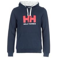 material Men sweaters Helly Hansen HH LOGO HOODIE Marine