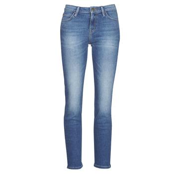 material Women straight jeans Lee ELLY Blue / Medium