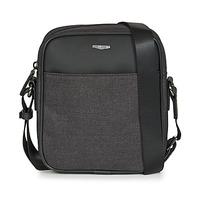 Bags Men Pouches / Clutches Hexagona MERCURE Black / Grey
