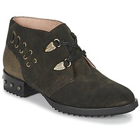 Shoes Women Mid boots Mam'Zelle XESTO Kaki
