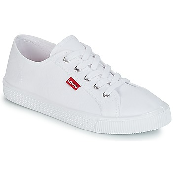 Shoes Women Low top trainers Levi's MALIBU BEACH S White