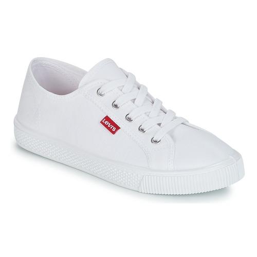 Shoes Women Low top trainers Levi's MALIBU BEACH S White