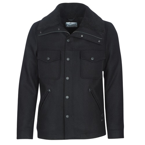 material Men coats Chevignon SHERPA Black