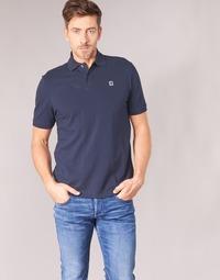 material Men short-sleeved polo shirts G-Star Raw DUNDA POLO Marine