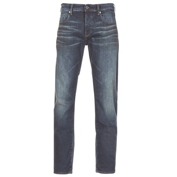 material Men straight jeans G-Star Raw 3301 STRAIGHT Blue / Dark / Aged / Antic