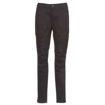 material Women Cargo trousers  G-Star Raw ROVIC MID SKINNY Black