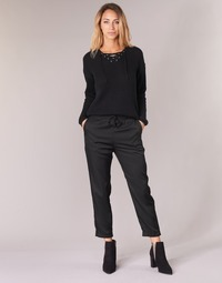 material Women Wide leg / Harem trousers G-Star Raw BRONSON JOG Black