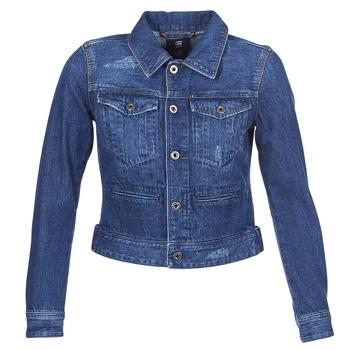 material Women Denim jackets G-Star Raw D-STAQ DC DNM Blue / Sato / Denim