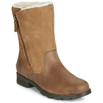Shoes Women Mid boots Sorel EMELIE FOLDOVER Camel