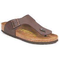 Shoes Men Flip flops Birkenstock RAMSES Brown