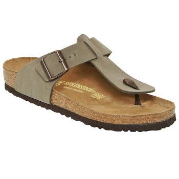 Shoes Men Flip flops Birkenstock MEDINA Beige