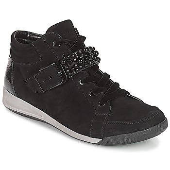 Shoes Women High top trainers Ara GESSINO Black