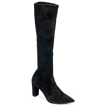 Shoes Women Boots Perlato JEANY Cam / Strech / Black