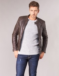 material Men Leather jackets / Imitation leather Oakwood AGENCY Brown