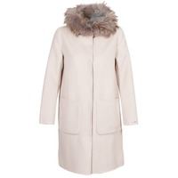 material Women coats Oakwood YALE BI Beige / Grey