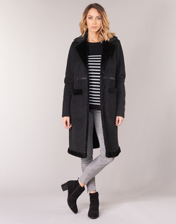 material Women coats Oakwood PORTOBELLO Black