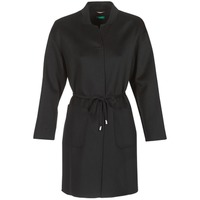 material Women coats Benetton MARBELLO Black