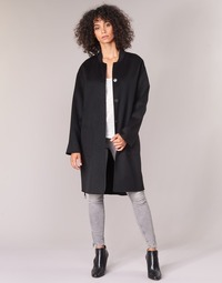 material Women coats Benetton MARBELLO Black