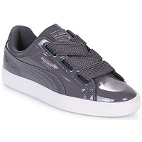 Shoes Women Low top trainers Puma WN BASKET HEART PATENT.IRO Iron