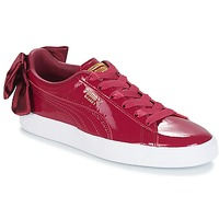 Shoes Women Low top trainers Puma WN SUEDE BOW PATENT.TIBETA Bordeau