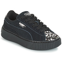 Shoes Girl Low top trainers Puma G PS S PLATFORM ATHLUXE.BL  black