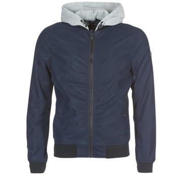 material Men Leather jackets / Imitation leather Kaporal LODY Blue