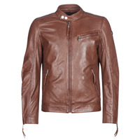 material Men Leather jackets / Imitation leather Redskins TRUST CASTING Brown