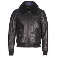 material Men Leather jackets / Imitation leather Redskins COMMANDER STRIKING Black