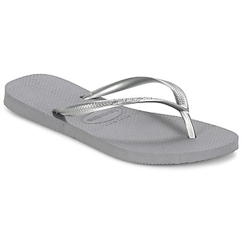 Shoes Women Flip flops Havaianas SLIM Grey / Steel