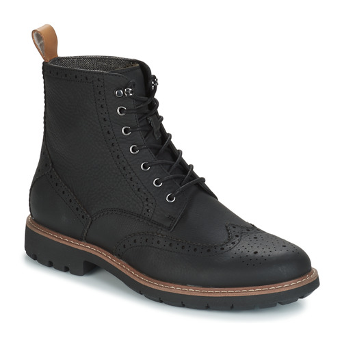 Shoes Men Mid boots Clarks BATCOMBE LORD Black