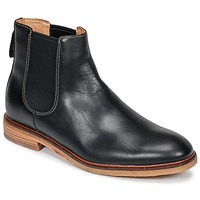 Shoes Men Mid boots Clarks CLARKDALE  black / Leather