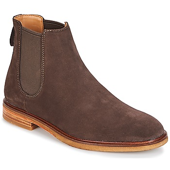 Shoes Men Mid boots Clarks Clarkdale Gobi Dark / Brown / Suede