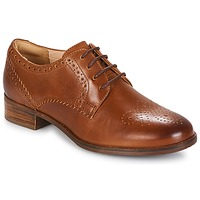 Shoes Women Derby shoes Clarks Netley Rose Brown