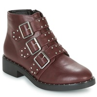 Shoes Women Mid boots Coolway CHIP Bordeaux