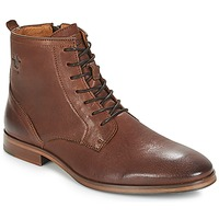 Shoes Men Mid boots Kost NICHE 1 Cognac