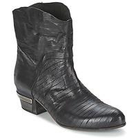 Shoes Women Ankle boots Vic GINCO Black
