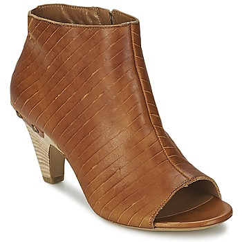 Shoes Women Low boots Vic GONCO Brown