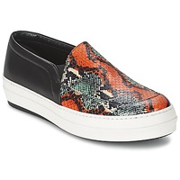 Shoes Women Slip ons McQ Alexander McQueen DAZE Black / Multicolour