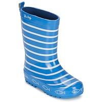 Shoes Children Wellington boots Be Only TIMOUSS Blue / Electric