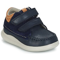 Shoes Boy High top trainers Clarks Cloud Tuktu Marine