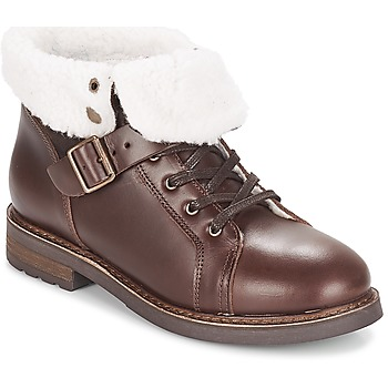 Shoes Women Mid boots PLDM by Palladium BOCK CLN Brown