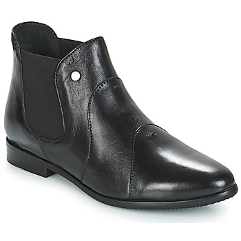 Shoes Women Mid boots Hush puppies GELTRUD Black