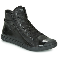 Shoes Women High top trainers Pataugas Bono V Black