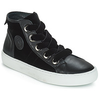 Shoes Women High top trainers Pataugas Zally Black
