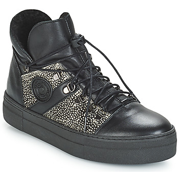 Shoes Women High top trainers Pataugas Whip Black