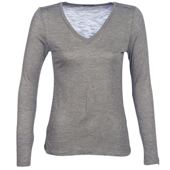 material Women Long sleeved shirts Ikks ANDRO Kaki