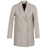 material Women Jackets / Blazers Ikks DASTRE Grey