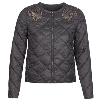 material Women Duffel coats Ikks GLORIA Black