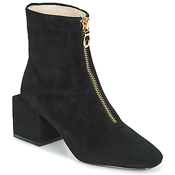 Shoes Women Ankle boots Miss L'Fire JUNE Black